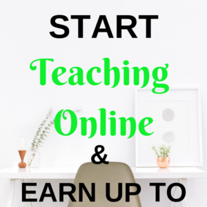 Teaching Online – How to start and get paid up to $80/hour