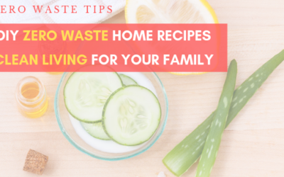 Easy Zero Waste DIY Recipes for your Home