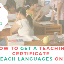 How to get a Teaching Certificate ?