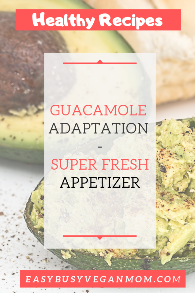 Guacamole Adaptation Appetizer Recipe 2