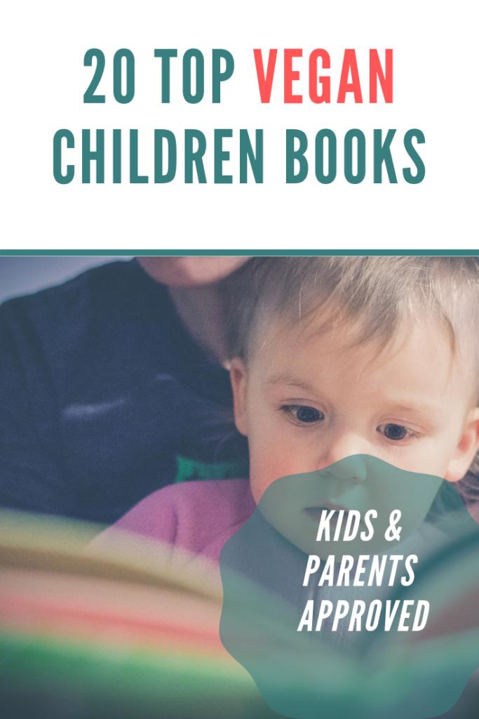 top vegan children books