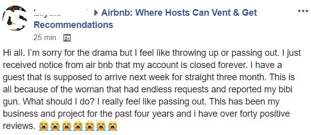Dont rely on Airbnb only