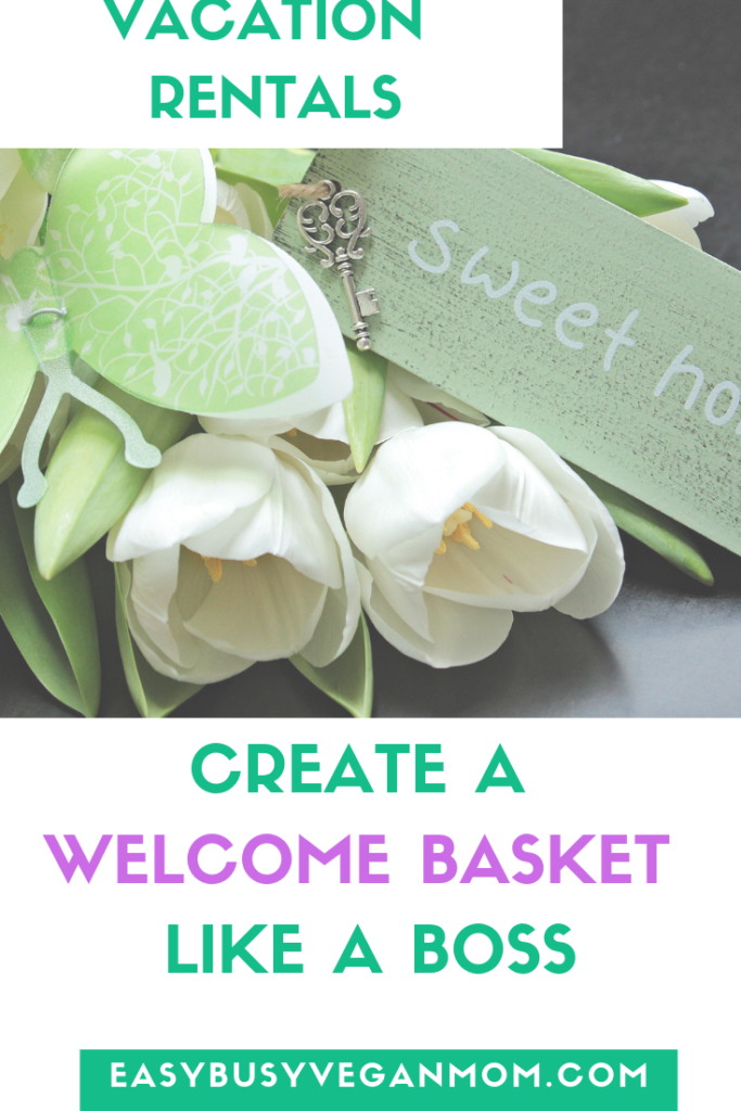 welcome basket airbnb