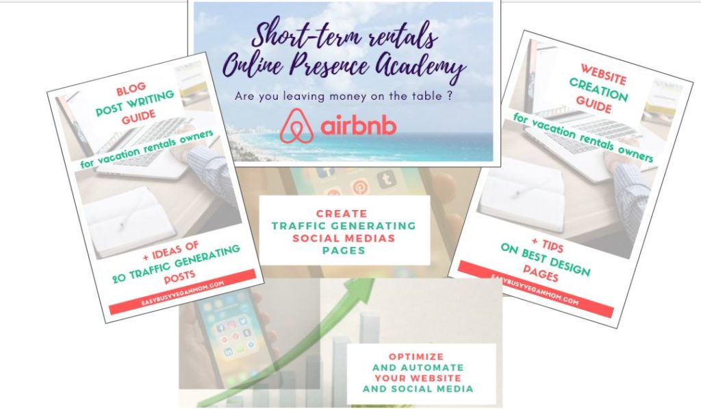 Short Term Rentals Online Presence Academy