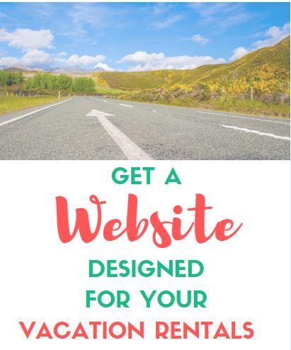 Website design vacation rentals