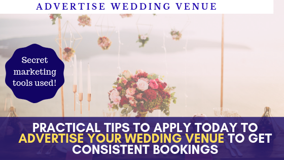 Digital marketing advice to advertise for free a wedding venue barn
