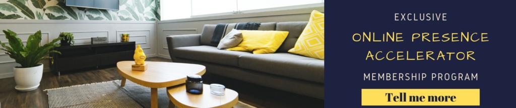 exclusive online presence accelerator membership program airbnb superhosts