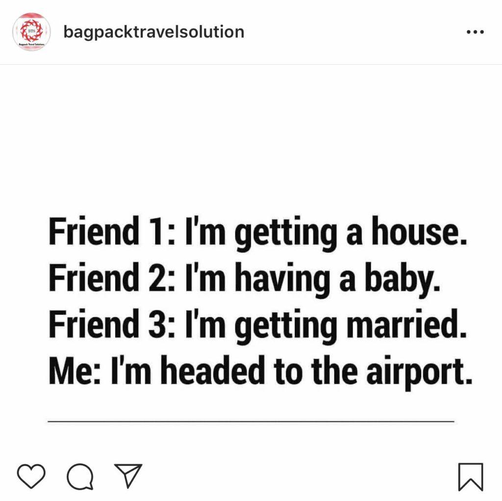Best funny travel memes social media vacation rental promote