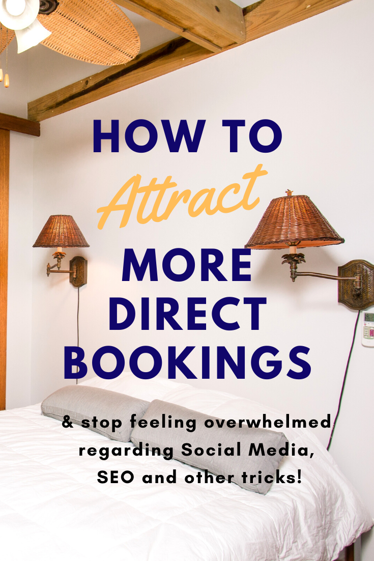 how to attract more direct bookings Airbnb Course