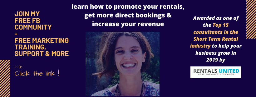 Join my free community - learn how to promote your airbnb
