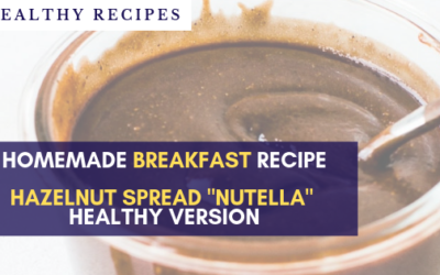 Delicious vegan homemade Nutella for your welcome basket on Airbnb