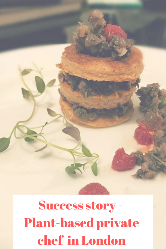 plant-based private chef London