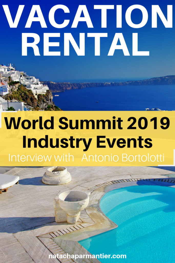 vacation rental world summit business event industry 2019 antonio bortolotti