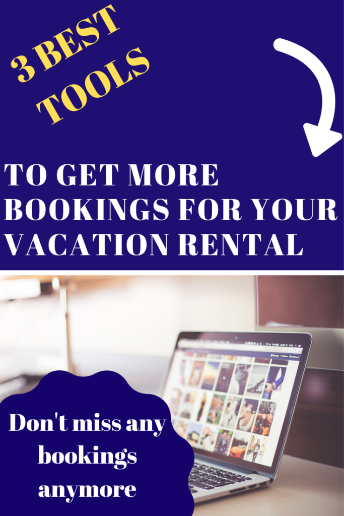 tools to increase bookings vacation rentals website