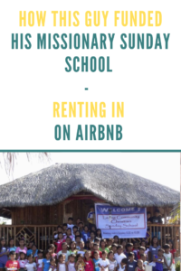 funding religious causes with Airbnb