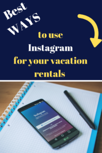 How to use Instagram business account Airbnb vacation rentals