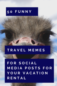 social media posts for your vacation rental