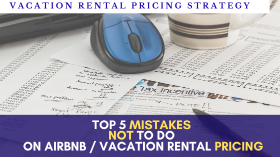 Top 5 mistakes I wish I hadn't done on Airbnb Pricing + tips smart pricing automated Beyond Pricing