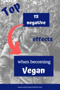 negative side effect vegan transition